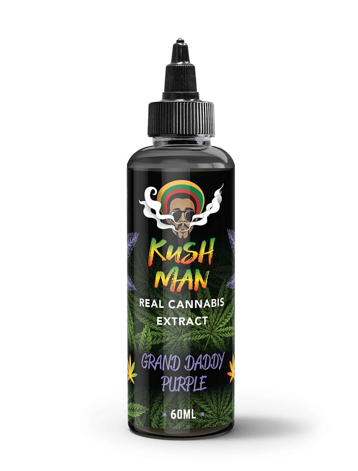 Kush Man - Grand Daddy Purple