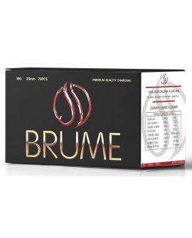 Brume Premium Coco Κάρβουνο 25*25*25 1kg -72τμχ