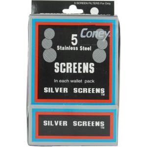 Atomic Screens Silver For Bong/Pipe 2cm - 5pcs
