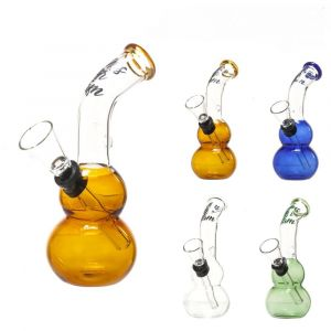 Amsterdam Bong Glass Mixt Colors h:12cm