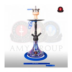 Shisha Amy 056R Middle Globe R Blue 60cm