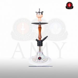 Ναργιλές/Shisha Amy Deluxe 083.02R Mini Jungle Clear 50 cm