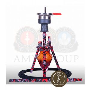 Ναργιλές/Shisha Amy Deluxe Play - 40 cm - M1Red