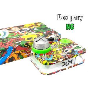 Ναργιλές/Shisha Dum Party Box Green 7 cm