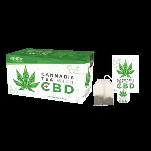 Euphoria Cannabis Tea With CBD (κουτί με 20 φακελάκια)