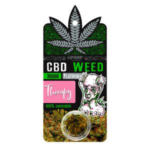 Euphoria CBD Weed Therapy  0,9 gr (Ανθός Κάνναβης)