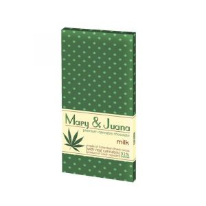 Mary & Juana Milk Chocolate – 80gr