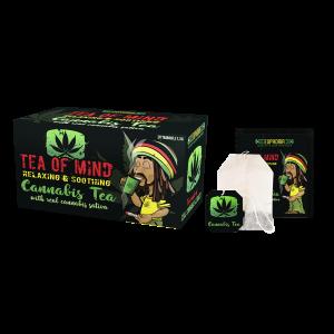 Cannabis Tea of Mind (κουτί με 20 φακελάκια)