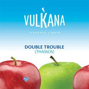 Καπνός Vulkana Virginia 100g + 500ml Double Trouble