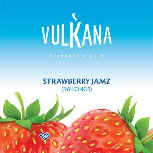 Καπνός Vulkana Virginia 100g + 500ml Strawberry Jamz
