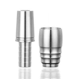 Aladin Adapter Για Σωλήνα Silver MVP360-510