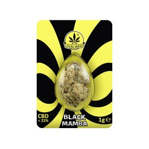 Legal Weed Black Mamba 1 gr - 22% CBD