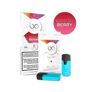 2x BO Caps British Berry-8mg