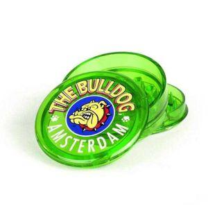 Bulldog Plastic Grinder 3part 6cm Green