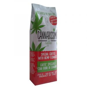 Cannabissimo Coffee with Hemp Flowers Ground 250g