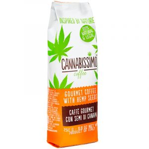 Cannabissimo Coffee With Hemp Seeds 250gr