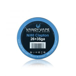 VandyVape Clapton Wire Ni80 26+35G