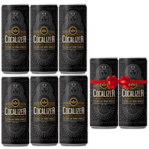 Cocalizer Energy Drink Offer Pack 6+2 Δώρο