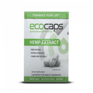 CBD Drip Ecocap Κανναβινοειδή 2 Κάψουλες 60mg