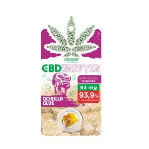 Euphoria Gorilla Glue 93mg CBD Shatter 0,1g