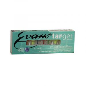 Evans Target Slim Πιπάκια Τσιγάρου 6.0mm