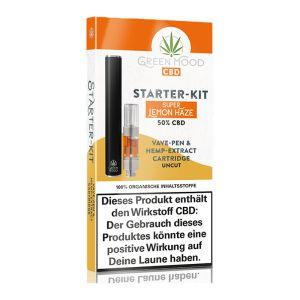 Green Mood Starter Kit Lemon Haze 50%