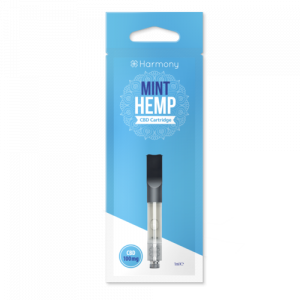 Harmony Moroccan Mint Cartridge CBD 1% – 100 mg – 1 ml