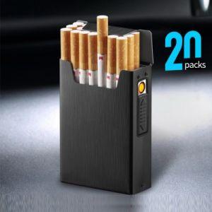 Cigarette Casse Heat Coil Lighter Black 20