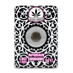 Legal Weed Afghan Kush Kief 1gr - 35% CBD
