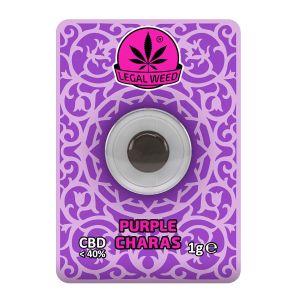 Legal Weed Charas 1g Purple Haze 40% CBD