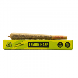 Legal Weed Preroll Lemon Haze 0,8gr – 22% CBD 1Τμχ