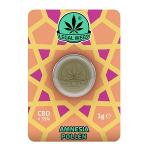 LEGAL WEED POLLEN 1g-Legal Weed Pollen Amnesia 1gr - 35% CBD
