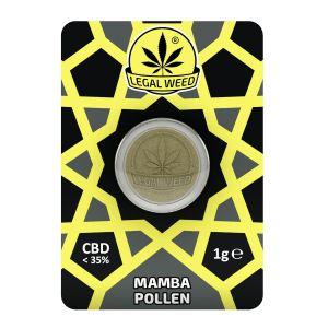 LEGAL WEED POLLEN 1g-Legal Weed Pollen Black Mamba 1gr - 35% CBD