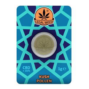 LEGAL WEED POLLEN 1g-Legal Weed Pollen OG Kush 1gr - 35% CBD