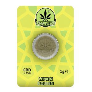 LEGAL WEED POLLEN 1g-Legal Weed Pollen Lemon Haze 1gr - 35% CBD