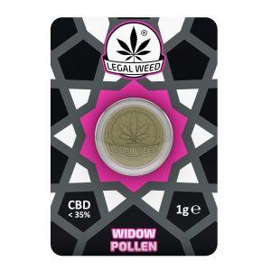 LEGAL WEED POLLEN 1g-Legal Weed Pollen White Widow 1gr - 35% CBD