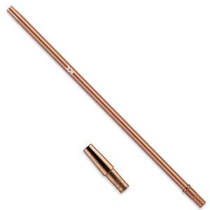 DUM Aκροφύσιο Ανοξείδωτο Slim 40cm Brown