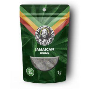 Marley Hemp Flower Jamaican Skunk 1gr - 33% CBD