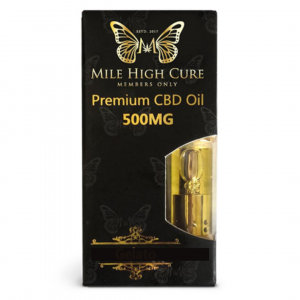 Mile High Cure Pen Cartridge 500mg Grand Daddy Purple