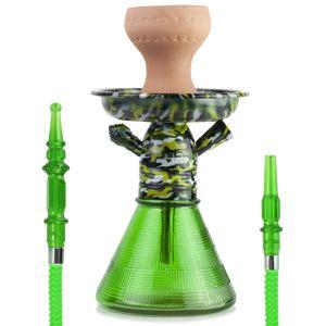 Ναργιλές/Shisha Dum H2 Mini Camouflage Green 24cm
