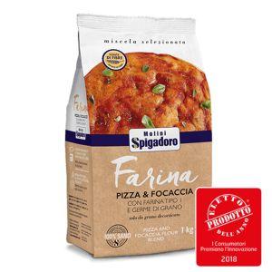 Molini Spigadoro Ανάμεικτο Αλεύρι Ιδανικό Για Πίτσα 1kg