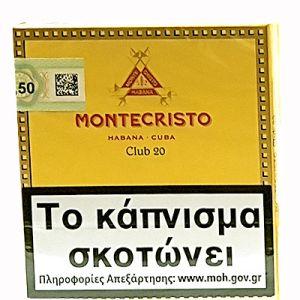 Montecristo Cigar Club 20s N.T.