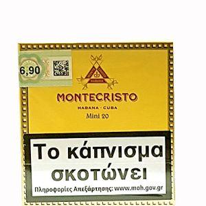 Montecristo Cigar MIini 20s N.T.
