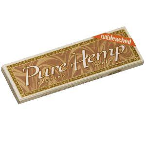 Pure Hemp χαρτάκι κλωστικής κάνναβης ακατέργαστο μικρό