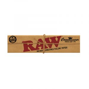 Raw Kingsize Connoisseur Τσιγαρόχαρτα +Τζιβάνες  32φύλλα