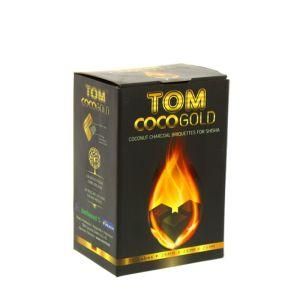Κάρβουνα Ναργιλέ Tom Cococha 1kg GOLD