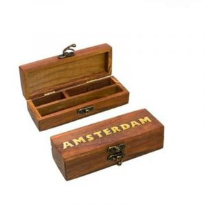 Small Wooden Amsterdam Box- 15cm x 6cm