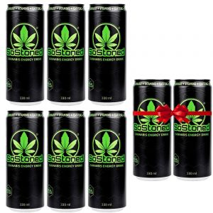 SoStoned Energy Drink Offer Pack 6+2 Δώρο