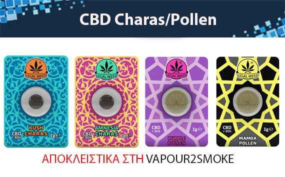 CBD Charas / Pollen